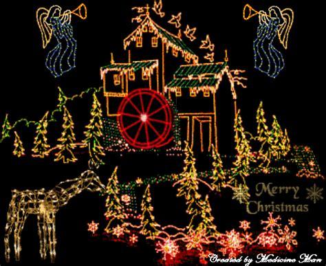 christmas house wallpaper christmas house lights wallpaper