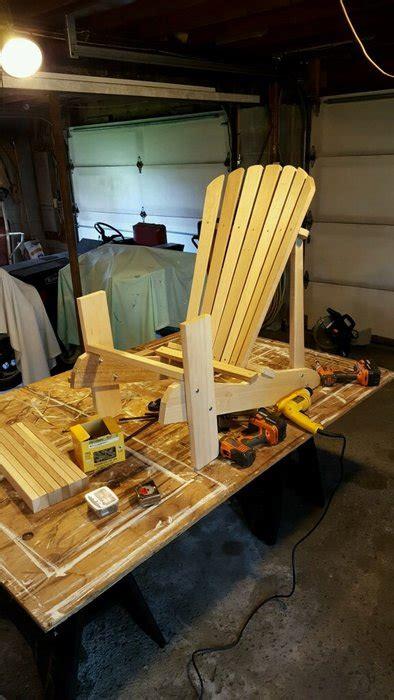 white oak adirondack chairs  joeblowfromwindycity