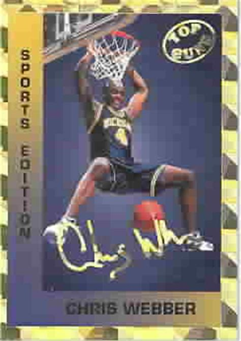 Maybe you would like to learn more about one of these? CHRIS WEBBER CARDS