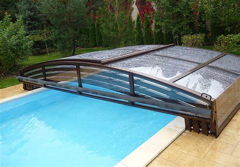 poolüberdachung ohne schienen schwimmbad 252 berdachung modell dinghy light eco alutherm deutschland gmbh