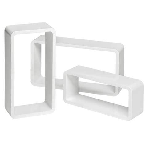 Étagère Murale Design, Étagère Murale Cube Rectangulaire
