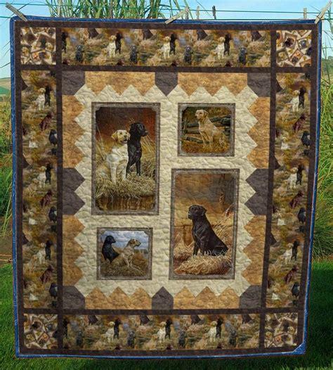 labrador clmdq quilt blanket dog quilts panel
