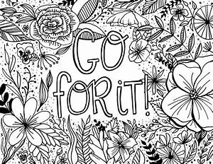 Free Encouragement Coloring Page Printable Dawn Nicole