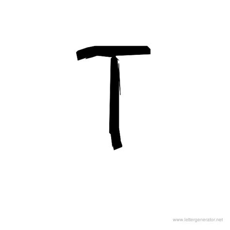 letter t in different fonts cool alphabet gallery free printable alphabets letter