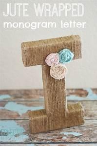 jute monogram letter eclectic momsense With jute letters