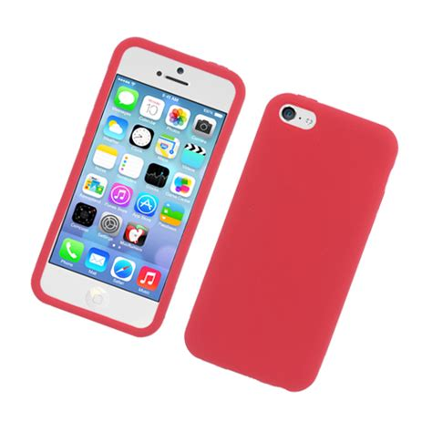 apple iphone 5c cases for apple iphone 5c silicon gel rubber soft