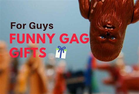 Funny Gifts For Guys Will Make Them Laugh