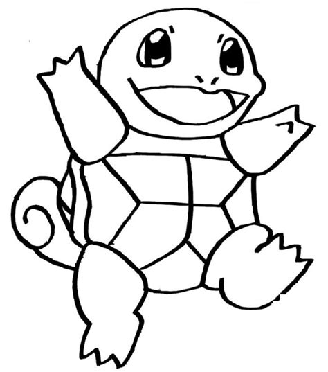 Squirtle Kleurplaat by Squirtle Coloring Pages Coloring Pages