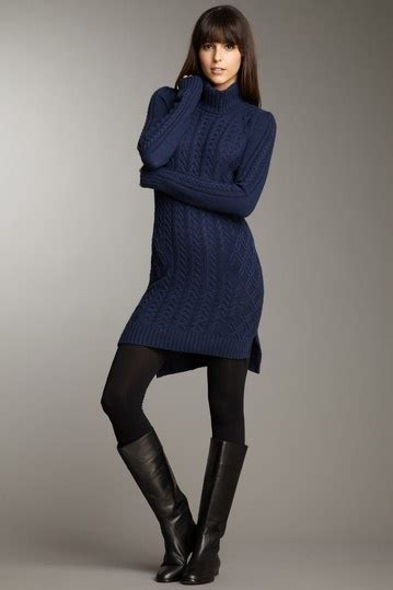 navy sweater dress bcbgmaxazria cabled sweater dress baby it 39 s cold