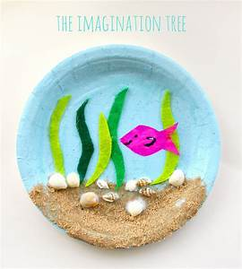 Paper Plate Art And Craft | ye craft ideas