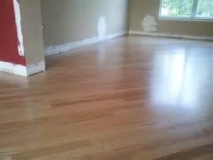 advice on how to finish oak floor with water based poly hardwood floor finishing