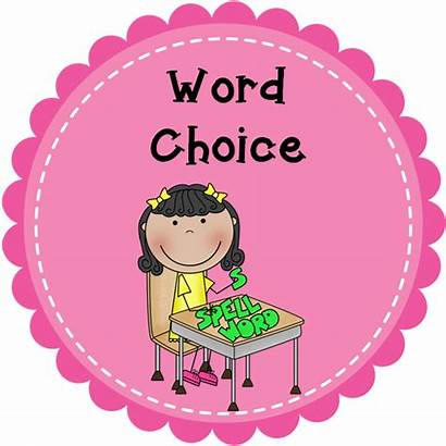 Choice Word Writing Comprehension Wednesday Connection