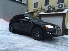 Winter wheeltire setup finally on our 2015 SQ5! pics