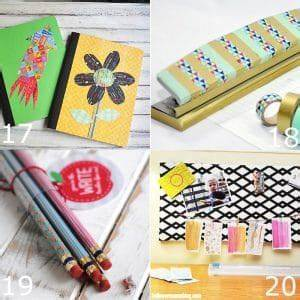 24 DIY Back to School Supplies | The Gracious Wife