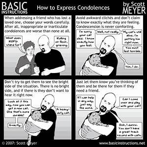 How To Basic : how to express condolences basic instructions ~ Buech-reservation.com Haus und Dekorationen