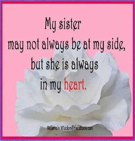 sad quotes about death of a sister