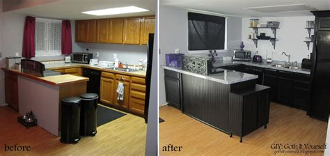 giy goth it yourself kitchen makeover diy trash bin giy goth it yourself kitchen makeover the reveal