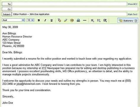 How To Send Your Resume In Email by Read Suggestions About Sending Your Resume By Email