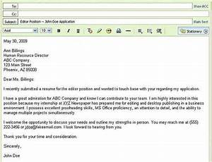 read suggestions about sending your resume by email With email format for sending resume to company