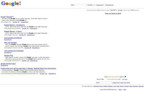 google time machine  google search easter egg brings     talkandroidcom