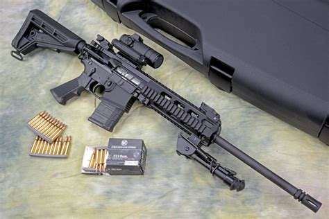 Test Haenel Cr223 Semiautomatic Competition Rifle (page