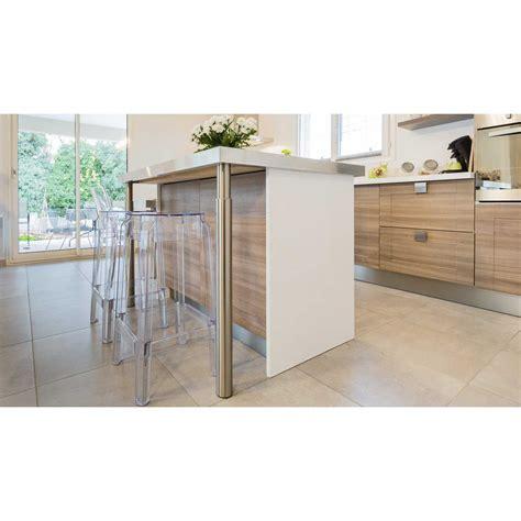fixer plan de travail cuisine enchanteur fixer plan de travail cuisine avec pied de plan travail cylindrique galerie images