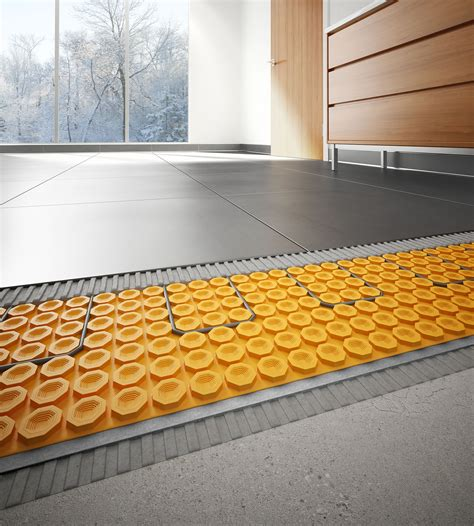 Schluter Heated Floor Kit by Schluter Ditra Heat And Kerdi Pixi Studio