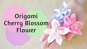 Origami  How To Make Origami Cherry Blossom Flower Origami