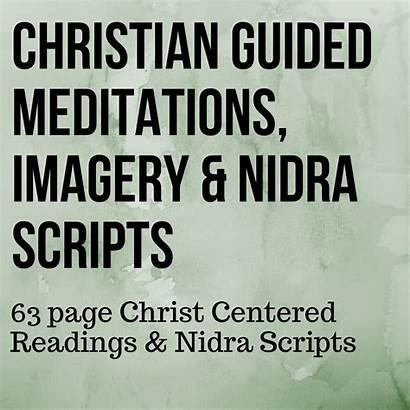 Meditation Christian Scripts Imagery Nidra Yogafaith