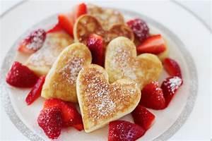 Heart-Shaped Pancakes - tiffany davis olson