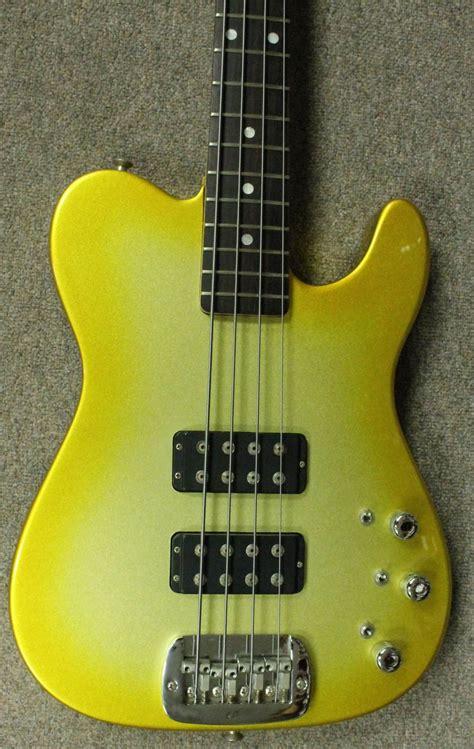 foto de G&L ASAT Bass *Custom Gold Burst Finish* Reverb