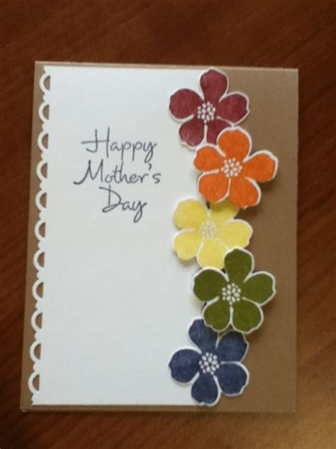 diy mothers day cards  show  love pink lover