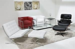 Mies Van Der Rohe Sessel : ludwig mies van der rohe barcelona le corbusier sessel lc2 eames lounge chair and ottoman ~ Eleganceandgraceweddings.com Haus und Dekorationen