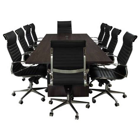 5 ft conference table denmark series 10 5 foot conference table american walnut