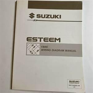 1995 Suzuki Esteem Wiring Diagram Manual