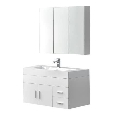 Badezimmer Waschbecken Mit Unterschrank Und Spiegelschrank by En Casa Badm 246 Bel Set Spiegelschrank Waschbecken