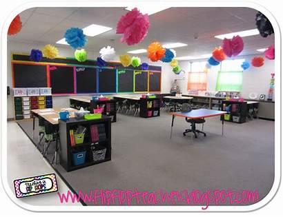 Classroom Bright Neon Decor Tour Flip Flops