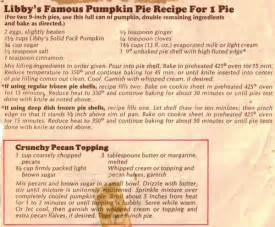 Libbys Pumpkin Cheesecake Kit Recipe by Libbys Canned Pumpkin Images