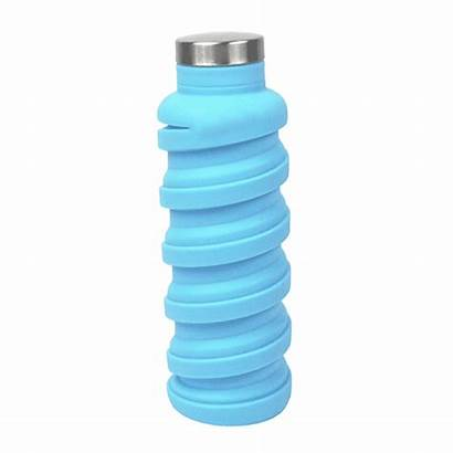 Water Bottle Collapsible Que Iceberg 568ml Collapsing