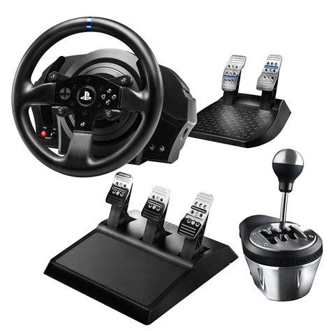 volante per pc con cambio recensione thrustmaster cambio th8a e pedaliera t3pa