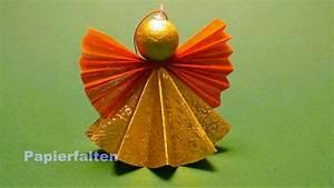 Basteln Mit Papier Anleitung : weihnachtsengel basteln ein engel aus papier falten youtube ~ Frokenaadalensverden.com Haus und Dekorationen