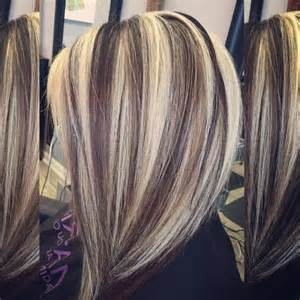 Blonde Hair with Highlights and Lowlights