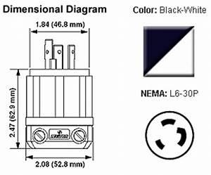 nema l6 30p plug locking 30a 250v With 208v receptacle wiring diagram