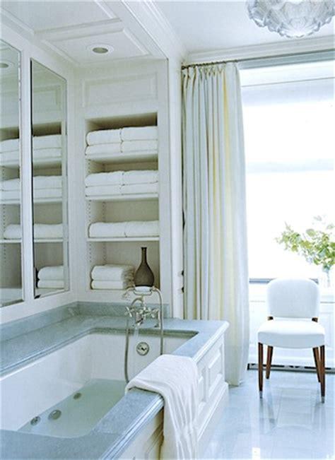 ideas   storage niches   bathroom shelterness