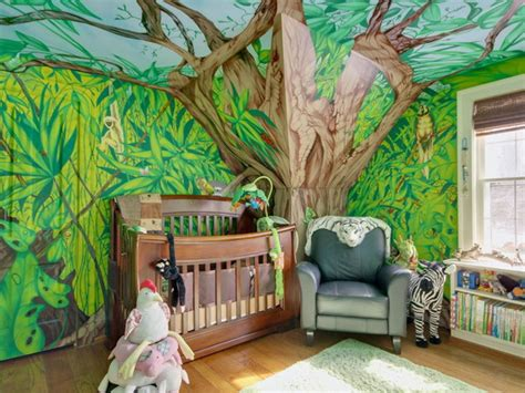 deco jungle chambre 25 cool jungle inspired room designs digsdigs