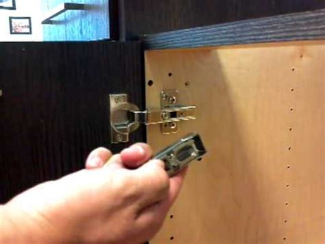replace cabinet hinges with soft close how to install of blum soft close adapter youtube