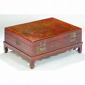 Table Basse Chinoise : table basse chinoise coffre ~ Melissatoandfro.com Idées de Décoration