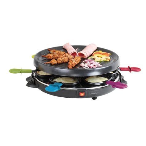 appareil cuisine conviviale appareil à raclette 6 personnes domoclip raclettes