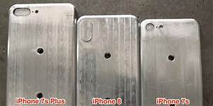 Leaked molds offer size comparison between iPhone 8 ...