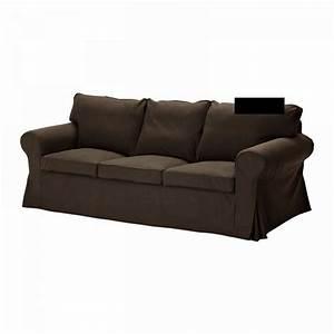 Ikea Bezug Sofa : ikea ektorp 3 seat sofa slipcover cover svanby brown linen ~ Michelbontemps.com Haus und Dekorationen